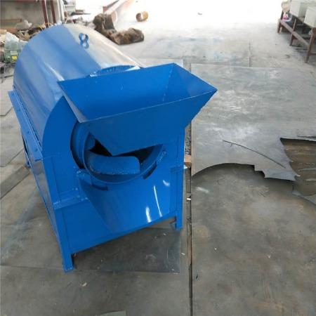 全自动食品加工炒货机设备 200公斤滚筒炒货机 多功能炒瓜子机