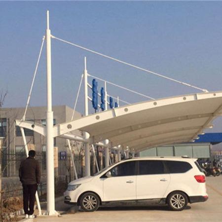 深圳膜结构停车棚 深圳市膜结构停车棚设计厂家