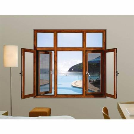 断桥窗纱一体 平开窗 慕狮门窗 多规格可定制