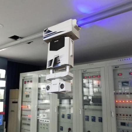 电力巡检移动摄像机 变电站巡检机器人 预制舱无人值守监控机器人 轨道巡检机器人