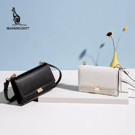 袋鼠(BANDICOOT)女包新款单肩包小方包小挎包斜挎包潮流纯色女包包 BWBD0220044