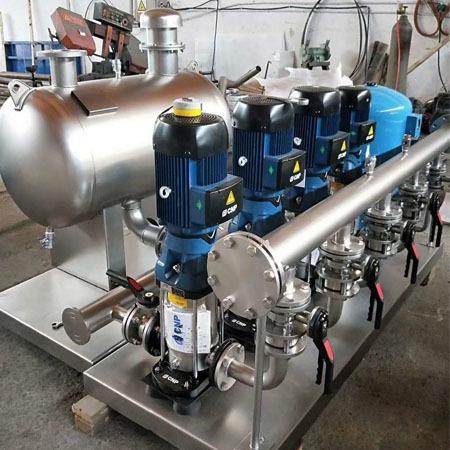 恒压供水设备 无负压供水设备厂家 普铭电气