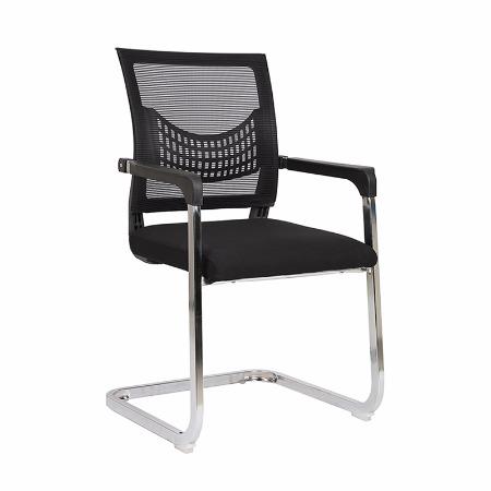 源头厂家弓形办公椅 网布职员椅 方管海绵坐垫会议椅 电脑椅批发