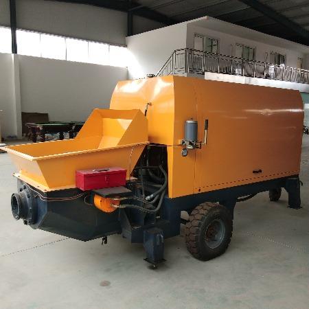 协丰机械 50型大颗粒混凝土输送泵,砂浆细石拖泵 二次结构柱浇筑上料机价格.