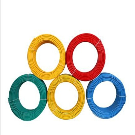 铜芯线 家装家用电缆 4/6平方纯铜阻燃10国标单芯硬线 山西太原艾宁商贸 专业生产