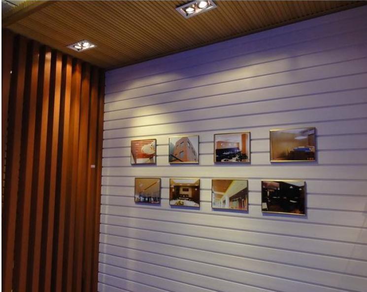 集成墙面厂家木质吸音板195长城板转印吸音欢庆双11