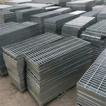 电厂平台踏步板 热镀锌平台钢格栅 双美 钢格板沟盖板 常备现货