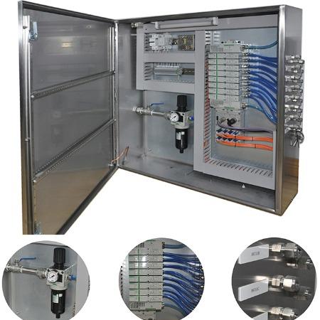专业定制 专业制作 电磁阀控制箱 ASCO电磁阀气控箱 G3总线阀岛箱