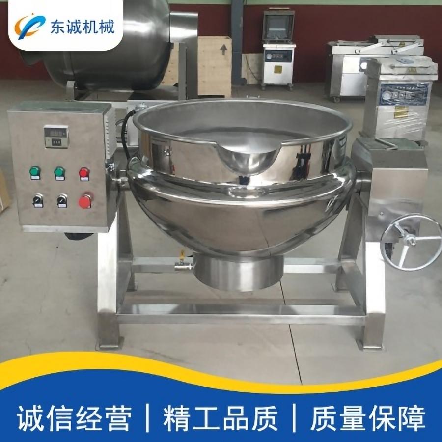 临朐全羊熬制夹层锅 羊汤蒸煮锅 诺尔全自动肉食夹层锅