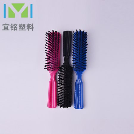 厂家直销 美发卷发梳内扣梳子家用吹头发男士造型卷梳毛梳