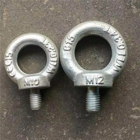 厂家供应索具 重型吊环 拉力吊环 吊母 镀锌吊环