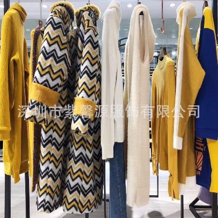 亮点国际秋冬装潮牌折扣女装供应一手货源供应商