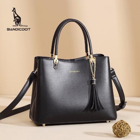 袋鼠女包2019年新品,托特包,手提包,大容量,单肩包女,大包简约风通勤包包 BWBD0320039