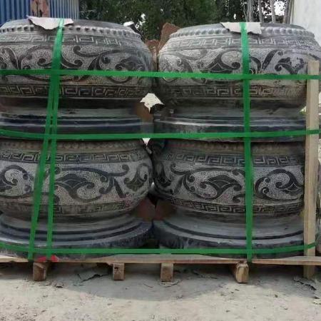 石雕鱼缸厂家直销  仿古石缸  石缸  雕刻石缸厂家 石雕盆景 柱鼓石  柱础石 柱基石 柱顶石