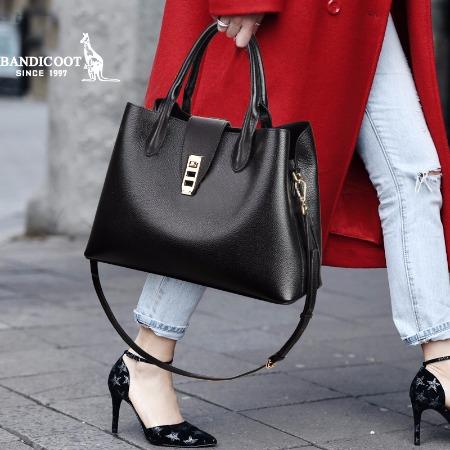 袋鼠女包新款,单肩包女,斜挎包包女,手提包,休闲时尚大容量ins风包 BWBD0319030