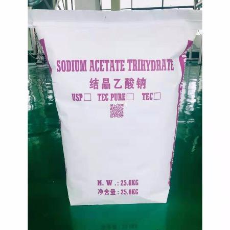 江苏安田化学 无色透明结晶醋酸钠价格   结晶乙酸钠厂家安田化学