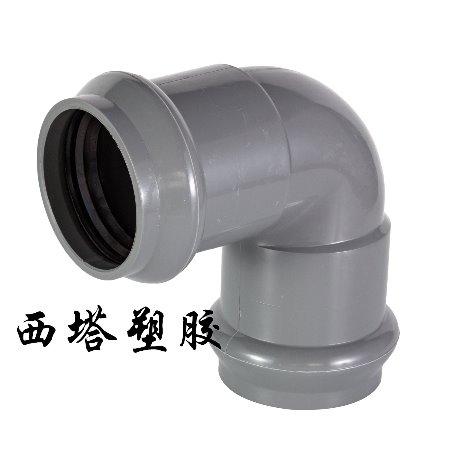 PVC双承90°弯头,常州旭腾塑业厂家直销规格齐全