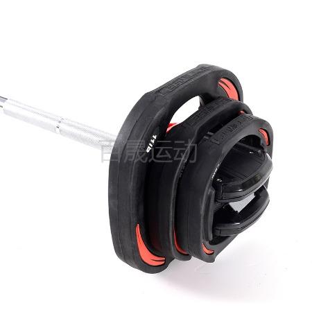 工厂直销 国际标准款 20KGLAI MEI杠铃套装