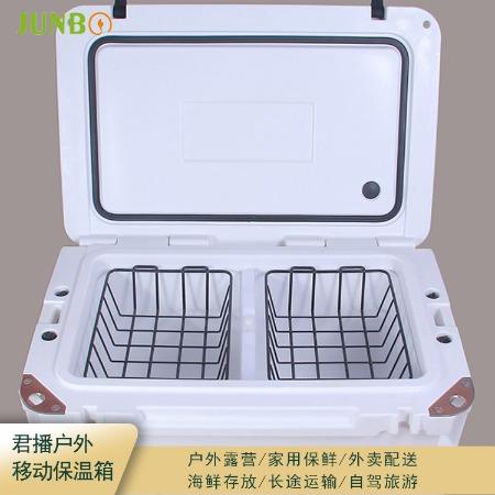 上海Junbo/君播厂家现货冷藏箱外卖箱食品箱盒饭移动保温箱温度持久品质优原装现货