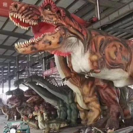 弘讯__户外仿真恐龙 恐龙模型厂家制作百米仿真恐龙展示