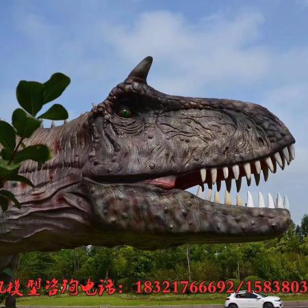 仿真恐龙制作_大型机械恐龙展厂家 恐龙模型生产