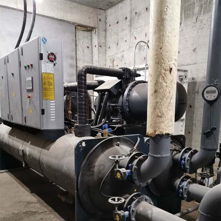 普铭电气厂家 水源热泵机组价格