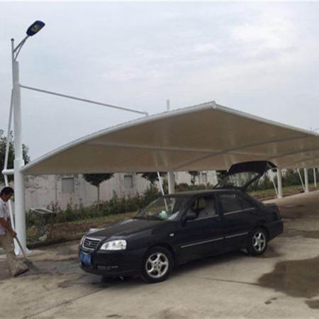 苏州膜结构车棚 苏州膜结构汽车棚安装