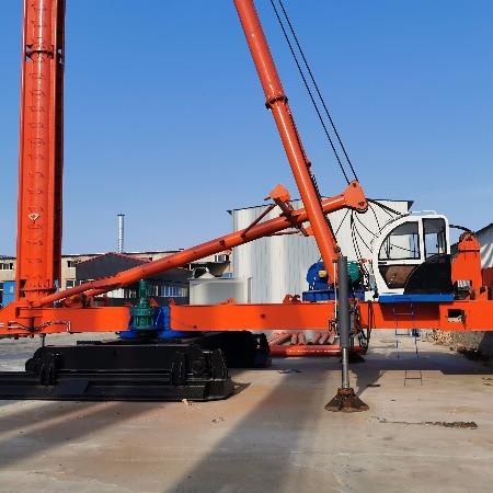 河北中原桩工专一制造CFG-28米型长螺旋钻机进尺快垂直度高