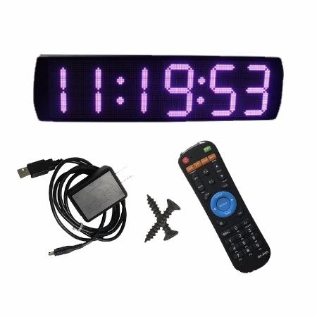 电子钟 挂钟厂家直销杭州赣鑫6英寸6位户外游戏比赛计时器定制