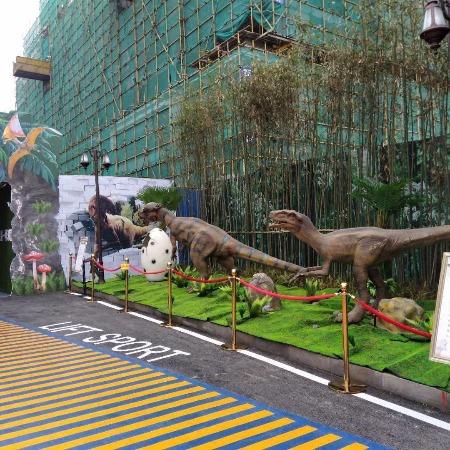 弘讯__百米仿真恐龙模型 户外恐龙展宣传 侏罗纪主题恐龙模型