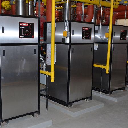 美鹰铜管模块燃气锅炉MB-5000环保低氮锅炉进口品质