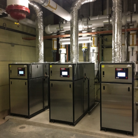 进口冷凝模块燃气锅炉美鹰铜管锅炉大型供暖工程沈阳供暖工程