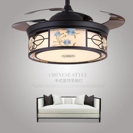 木可家42-YX1232灯饰代理风扇灯复古