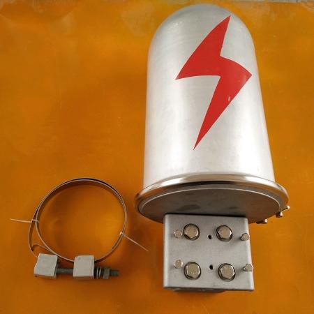 宣城供应ADSS/OPGW光缆铝合金接头盒 电力塔用金属接续盒 绝缘子 富华厂家