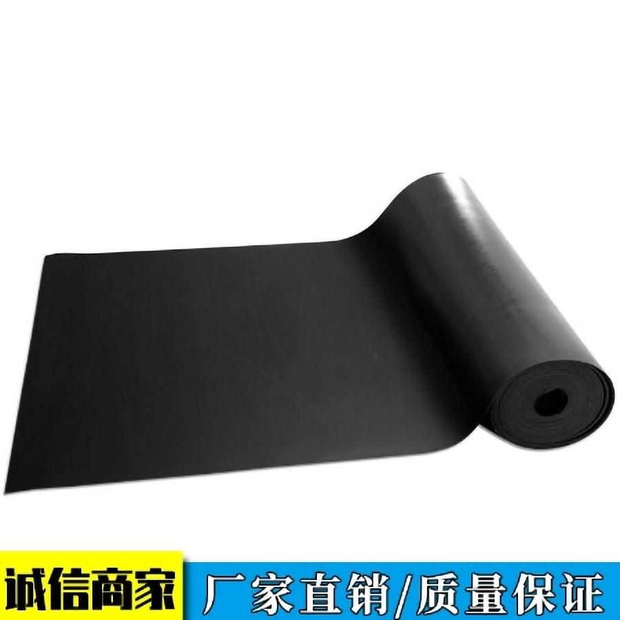 耐油橡胶板 阻燃耐高温黑色加厚橡胶板
