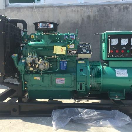 30kw发电机组 30千瓦四缸全铜发电机