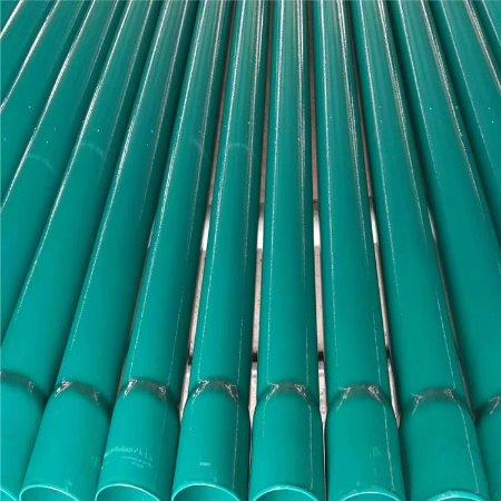 鑫晨源厂家直销 热浸塑钢电缆保护管 内外涂塑钢管 交货快质量优