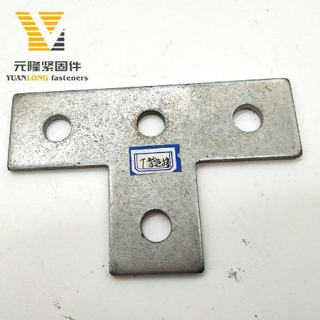 厂家供应 抗震支架连接件平 限位件 平面连接件 十字件 T型连接