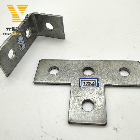 厂家批发 抗震支架连接件平 限位件 平面连接件 十字件 T型连接