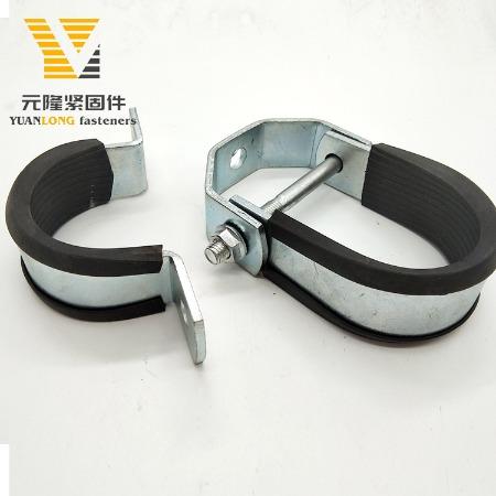 厂家批发  重型管夹 悬吊管卡 成品支吊架抗震管廊配件 可定制
