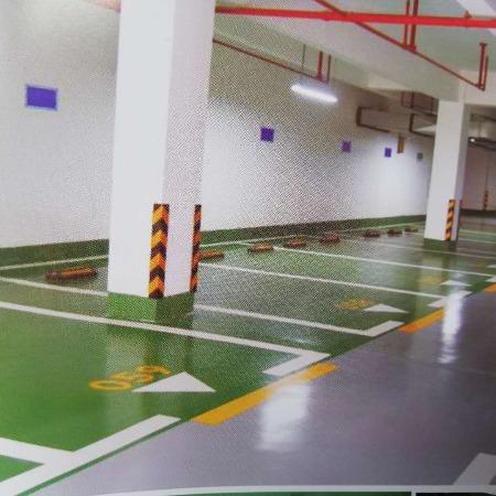 工厂车间仓库地坪双组份环保性环氧地坪漆材料生产 金马承接工程