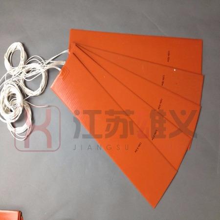 硅胶加热片 温控型硅胶电加热片 柔性硅橡胶电热片发热片非标定制