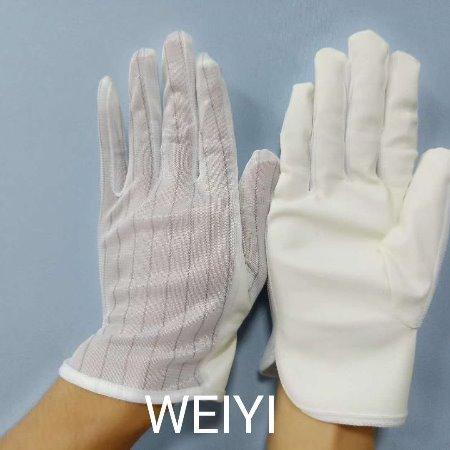 维易生产深南电路用的无硫手套