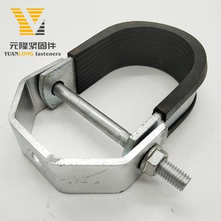 厂家报价 重型管夹 悬吊管卡 成品支吊架抗震管廊配件 现货供应