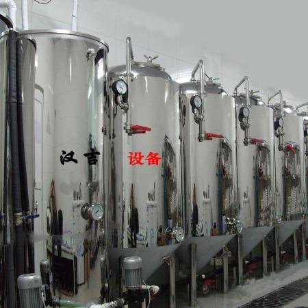 啤酒设备厂家 汉吉啤酒发酵设备