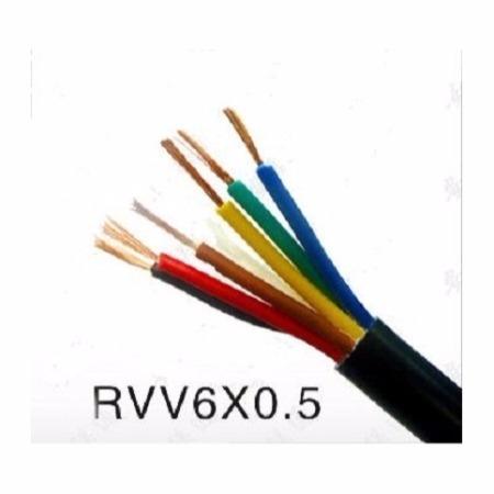 盈邦线缆 国标护套线RVV6*0.5平方铜芯电源线