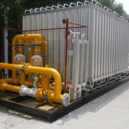 水浴式电加热复热器 LNG辅热器汽化器空温式汽化器调压撬 减压撬 南宫卓越