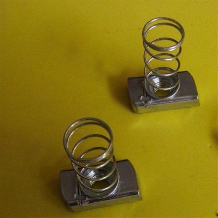 厂家批发镀锌弹簧螺母 弹簧螺母 菱形弹簧螺母 定做