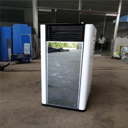 家用小空调生物质颗粒采暖炉 别墅家用商用全自动采暖炉 环保节能每天只需一度电