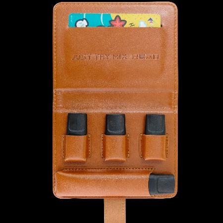 TRYMIX反正电子烟皮套烟杆烟弹一体保护便携男女英伦复古手工定制加盟价格面议